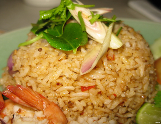 Brown-ricewith-shrimp