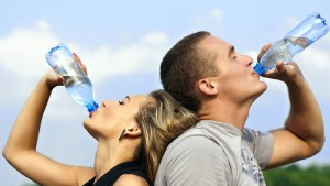 water rejuvenates Skin