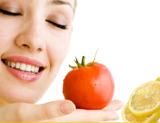 Tomato-Yogurt-And-Lemon-Juice-Face-Pack