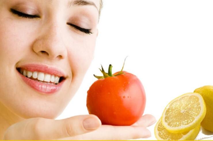 Tomato-Yogurt-And-Lemon-Juice-Face-Pack
