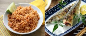 rice and fish keeps you fit